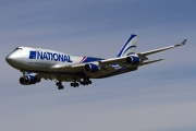 N919CA, Boeing 747-400(BCF), National Airlines