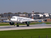 N946FR, Airbus A319-100, Frontier Airlines