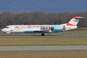 OE-LVM, Fokker F100, Austrian Arrows (Tyrolean Airways)