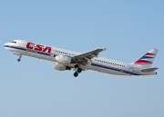 OK-CED, Airbus A321-200, CSA Czech Airlines
