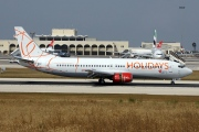 OK-WGY, Boeing 737-400, HOLIDAYS Czech Airlines