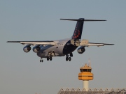 OO-DJN, British Aerospace Avro RJ85, Brussels Airlines