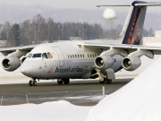 OO-DJR, British Aerospace Avro RJ85, Brussels Airlines