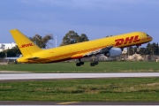 OO-DLQ, Boeing 757-200SF, European Air Transport (DHL)