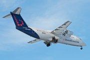 OO-DWD, British Aerospace Avro RJ100, Brussels Airlines