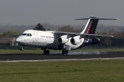 OO-DWE, British Aerospace Avro RJ100, Brussels Airlines