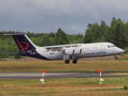 OO-DWF, British Aerospace Avro RJ100, Brussels Airlines