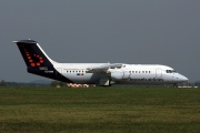 OO-DWI, British Aerospace Avro RJ100, Brussels Airlines