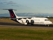 OO-DWJ, British Aerospace Avro RJ100, Brussels Airlines