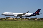 OO-SFW, Airbus A330-300, Brussels Airlines