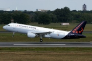 OO-SNF, Airbus A320-200, Brussels Airlines