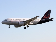 OO-SSA, Airbus A319-100, Brussels Airlines