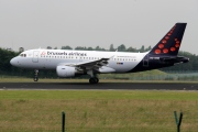 OO-SSB, Airbus A319-100, Brussels Airlines