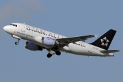 OO-SSC, Airbus A319-100, Brussels Airlines