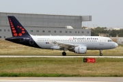 OO-SSM, Airbus A319-100, Brussels Airlines