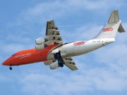 OO-TAF, British Aerospace BAe 146-300, TNT Airways