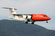 OO-TAZ, British Aerospace BAe 146-200QC, TNT Airways
