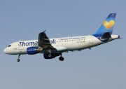 OO-TCJ, Airbus A320-200, Thomas Cook Airlines (Belgium)