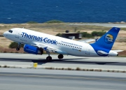 OO-TCS, Airbus A319-100, Thomas Cook Airlines (Belgium)