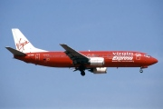 OO-VEK, Boeing 737-400, Virgin Express