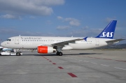 OY-KAL, Airbus A320-200, Scandinavian Airlines System (SAS)