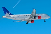 OY-KAM, Airbus A320-200, Scandinavian Airlines System (SAS)