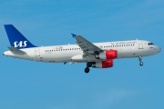 OY-KAO, Airbus A320-200, Scandinavian Airlines System (SAS)