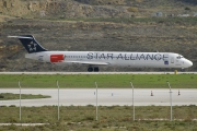 OY-KHE, McDonnell Douglas MD-82, Scandinavian Airlines System (SAS)
