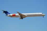 OY-KHG, McDonnell Douglas MD-82, Scandinavian Airlines System (SAS)