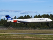 OY-KHN, McDonnell Douglas MD-82, Scandinavian Airlines System (SAS)