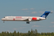 OY-KHU, McDonnell Douglas MD-87, Scandinavian Airlines System (SAS)
