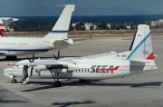 PH-ARE, Fokker 50, South East European Airlines - SEEA