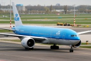 PH-BQD, Boeing 777-200ER, KLM Royal Dutch Airlines