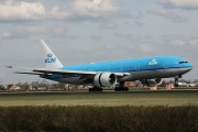 PH-BQK, Boeing 777-200ER, KLM Royal Dutch Airlines