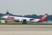 PT-MSL, Airbus A340-500, TAM Linhas Aereas