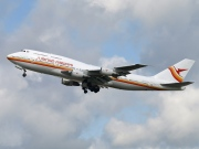 PZ-TCM, Boeing 747-300M, Surinam Airways