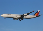 RP-C3441, Airbus A340-300, Philippine Airlines