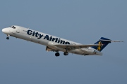 SE-DMK, McDonnell Douglas MD-87, City Airline