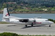 SE-LEZ, Fokker 50, Air Vallee