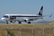 SP-LNA, Embraer ERJ 190-200LR (Embraer 195), LOT Polish Airlines