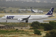 SP-LND, Embraer ERJ 190-200LR (Embraer 195), LOT Polish Airlines