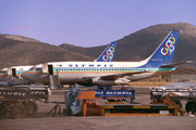 SX-BCK, Boeing 737-200Adv, Olympic Airways
