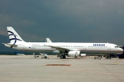 SX-DGA, Airbus A321-200, Aegean Airlines