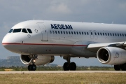 SX-DGN, Airbus A320-200, Aegean Airlines