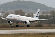 SX-DGY, Airbus A320-200, Aegean Airlines