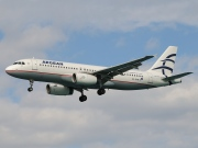 SX-DVN, Airbus A320-200, Aegean Airlines