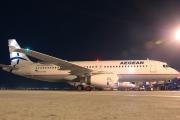 SX-DVU, Airbus A320-200, Aegean Airlines