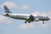 SX-DVX, Airbus A320-200, Aegean Airlines