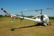 SX-HBR, Hiller UH-12E, Private