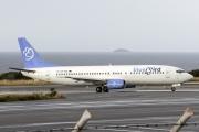 SX-TZE, Boeing 737-400, Blue Bird Aviation